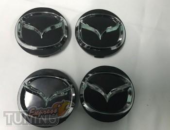 Оригинальные колпачки в диски Mazda диаметром 55мм