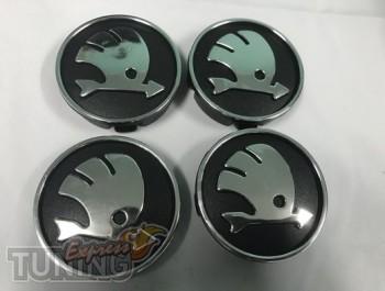 Купить оригинальные колпачки для обычных дисков Skoda