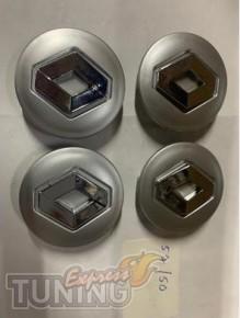 Оригинальные колпачки в титановые диски Рено