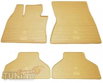 Комплект бежевых ковров на Бмв Х6 Е71 Stingray