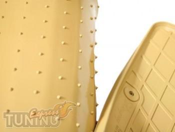 Комплект бежевых ковриков на Хонду Аккорд 7 в исполнении Stingra