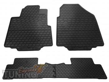 Купить резиновые коврики Honda Pilot 2 поколения