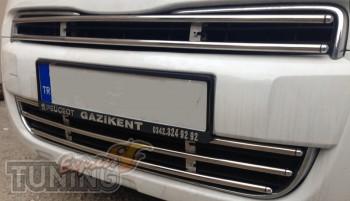 Хромированная решетка радиатора Citroen Berlingo 2