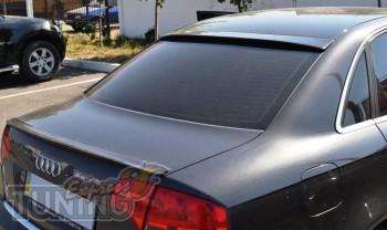 Бленда на стекло Audi A4 B6 (спойлер задний)